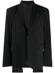 D.Gnak Suit Jacket Black