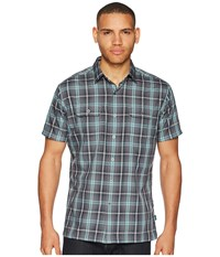 Kuhl Response Cinder Short Sleeve Button Up Gray