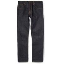 Nudie Jeans Steady Eddie Regular Fit Organic Dry Denim Jeans Blue
