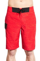 Men's Under Armour 'Reblek Ua Storm' Water Repellent Board Shorts Rocket Red Rocket Red