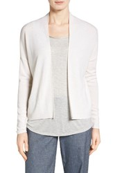 Nordstrom Women's Collection Pointelle Detail Cashmere Cardigan