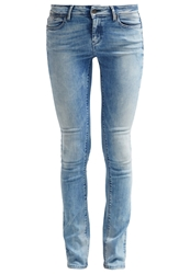 Teddy Smith Slim Fit Jeans Fripp Indigo Clair Blue Denim
