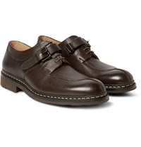 Heschung Carrya Panelled Leather Derby Shoes