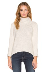 Line Harbor Turtleneck Sweater Light Gray