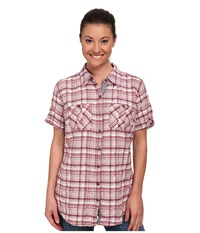 Carhartt Brogan Shirt Dried Rose Women's Short Sleeve Button Up Pink