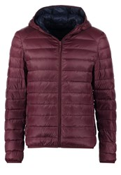 United Colors Of Benetton Down Jacket Bordeaux