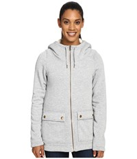 Columbia Trail Lodge Fleece Full Zip Flint Grey Heather Women's Coat Gray