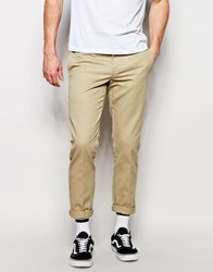 Dickies 872 Work Pant Chino In Slim Fit Beige