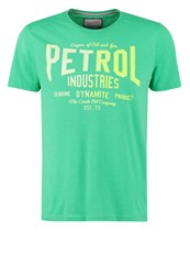 Petrol Industries Print Tshirt Gras Green Light Green
