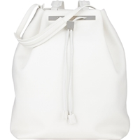 The Row Drawstring Backpack White