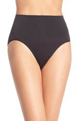 Yummie Tummie Women's Yummie By Heather Thomson 'Nici' Shaping Briefs Black