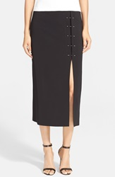 A.L.C. 'Dean' Midi Pencil Skirt Black