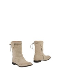 Aniye By Ankle Boots Beige
