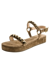 Kennel Schmenger Neo Sandals Tabacco Suede Light Brown
