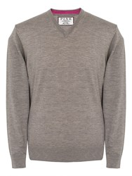 Thomas Pink Men's Hawthorne Jumper Beige