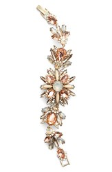 Women's Marchesa Jeweled Cluster Bracelet