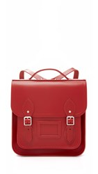 The Cambridge Satchel Company Small Portrait Backpack Red