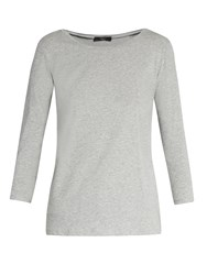 Max Mara Multi C T Shirt Light Grey