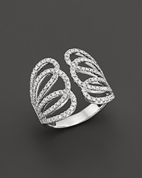 Bloomingdale's Diamond Statement Ring In 14K White Gold 1.10 Ct. T.W.
