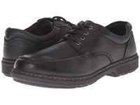Nunn Bush Wayne Moc Toe Oxford Black Men's Lace Up Moc Toe Shoes