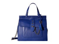 Badgley Mischka Beulah Satchel Cobalt Satchel Handbags Blue