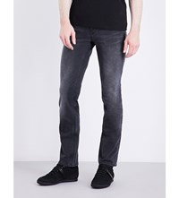 Hugo Boss Slim Fit Tapered Jeans Black