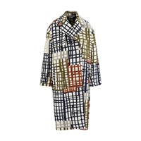 Jacquemus Checked Coat Jacquard Carreaux
