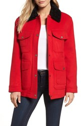 Pendleton Women's Manchester Waterproof Field Coat Red