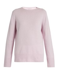 The Row Sibel Wool And Cashmere Blend Sweater Light Pink