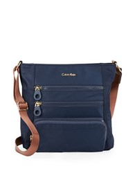 Calvin Klein Nylon Crossbody Navy