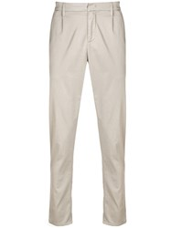 Dondup Regular Fit Trousers Neutrals
