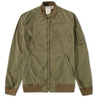 Remi Relief Ma 1 Bomber Jacket Green