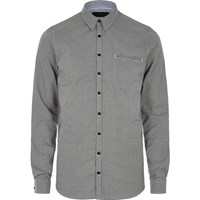 Vito River Island Mens Grey Pocket Shirt