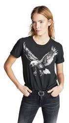 Sol Angeles Eagle Rolled Tee Very Black
