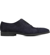 Stemar Suede Oxford Shoes Navy