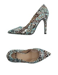 Msgm Footwear Courts Women Turquoise