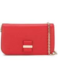 See By Chloe 'Rosita' Flat Crossbody Bag Red