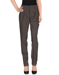 My Pant's Trousers Casual Trousers Women Dark Brown