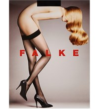 Falke 8D Back Seam Hold Ups 3009 Black