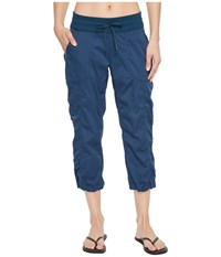 The North Face Aphrodite 2.0 Capris Blue Wing Teal Red