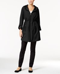 Styleandco. Style Co. Hooded Rain Coat Only At Macy's Check That Black