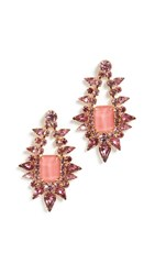 Elizabeth Cole Tallulah Earrings Pink