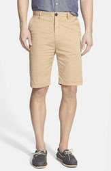 Men's Rodd And Gunn 'Penrose' Flat Front Shorts Camel