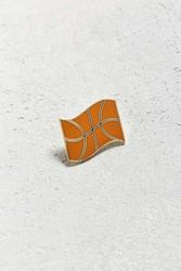 Valley Cruise Press X Eivind Molvaer Basketball Flag Pin Orange