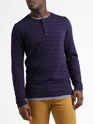 Scotch And Soda Grandad Double Layer Henley Combo B
