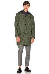 Rains Long Jacket Army