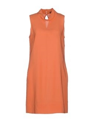 Robert Friedman Short Dresses Orange