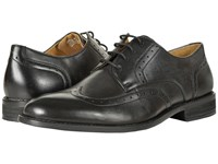 Nunn Bush Slate Wing Tip Oxford Black Men's Lace Up Wing Tip Shoes