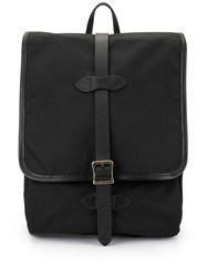 Filson Flap Backpack Black