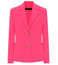 Versace Single Breasted Blazer Pink